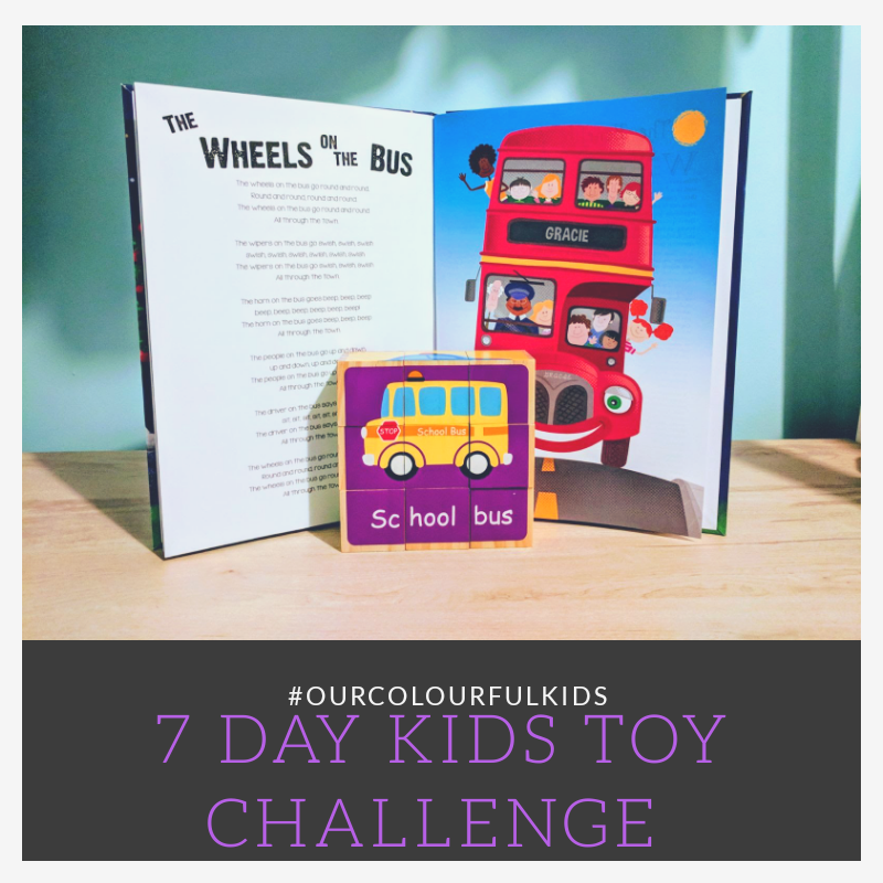 Day 1 & 2 – 7 days kids toys challenge