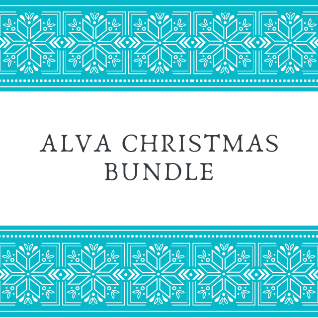 Alva Christmas Nappies